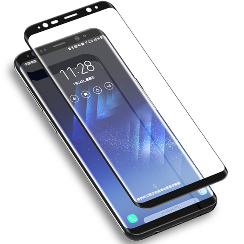 Tempered Glass For Samsung Galaxy note 9 J2 J3 J4 J8 J6 J7 A3 A5 A7 A6 2017 2018 A9 Star Full Cover Screen Protector
