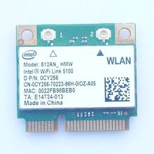 LINK 5100 512AN_HMW Mini PCI-E 802.11N 300Mbps WIFI CARD WLAN DELL CY256 2.4GHz/5.0GHz for INTEL Dell Toshiba Free Shipping