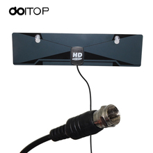 DOITOP Satellite TV Receiver Digital TV Antenna Satellite HD Clear Vision Indoor HDTV DTV Box VHF UHF Receiver US Plug A3(China)