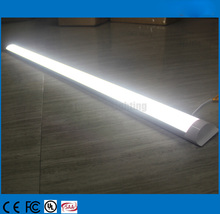 Free ShipNew Arrival LED tri-proof Tube lamps 60cm 18W LED Tube Batten Lighting AC85-265V Warm /Natural/ Cold White 50pcs/lot