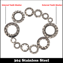 Buy M3 M4 M5 M6 M8 M10 M12 M14 M16 304 Stainless Steel 304SS DIN6797 Outside Toothed Spacer External Teeth Locking Washer for $5.04 in AliExpress store