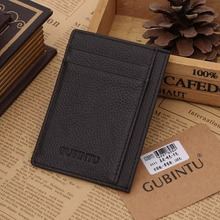 New GUBINTU Men Creative card Sets of solid Color Multi - Card card Package Simple Bus Card sets