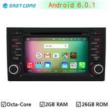 4G LTE Octa Core Android 6.0 2GB RAM Car DVD Stereo Radio Player For AUDI A4 2002-2008 SEAT EXEO 2009-2012 GPS Navigation System