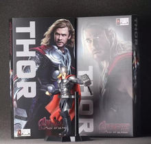 Perfect packaging 18cm Marvel Classic The Avenger Super Hero Thor Toys Figure Toys Box Best Collection PVC Avengers Thor Model