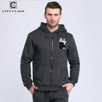 City Class 2017 Hommes Ensemble Sweat Pantalon De Mode Jogger Survêtements Hommes Costumes Occasionnels Clothing Hoodies Masculino Sport 8445