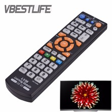VBESTLIFE New Remote Control With Learning Function Replacement For HDTV LED Smart TV Conrol English Remote Controller Universal
