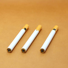 100pcs/lot Cigarette- shaped Butane Torch Lighter NO GAS cigarette butane gas metal torch lighter also offer usb oil jet lighter(China)