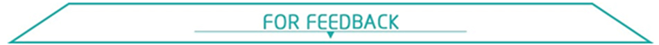 8-FOR FEEDBACK