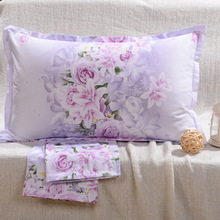 Buy Printed Cotton Pillowcases Cotton Twill Adult Pillow Cases Single Pillow Pillow Core Set 48 * 74 Condom Envelope E