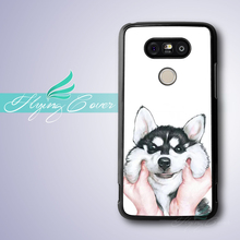Coque Siberian Husky Dog Cover Phone Cases for Google Nexus 5 Case for LG G5 G4 G3 Case for Huawei Ascend P7 P8 P9 Lite Plus.(China)