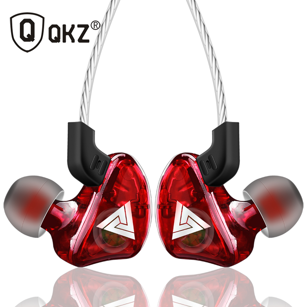 Brand Earphone QKZ CK5 Universal Earphones HiFi Headset Bass Stereo Earbuds for Mobile phone iPhone Airpods fone de ouvido(China)