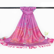 Female cotton solid Elephant scarf tassel shawl women long section of scarves beach Sunscreen kerchief oversize Shawl #25