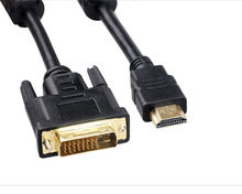 1.5M DVI-D 24+1 to HDMI Male Converter Cable for Monitor PC LCD LED HDTV 5FT(China)