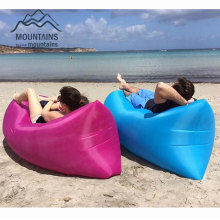 Lounger Fast Inflatable Sofa Outdoor Air Sleep Sofa Couch Portable Furniture Living Room Sofas for Summer Camping Beach Hammock(China)