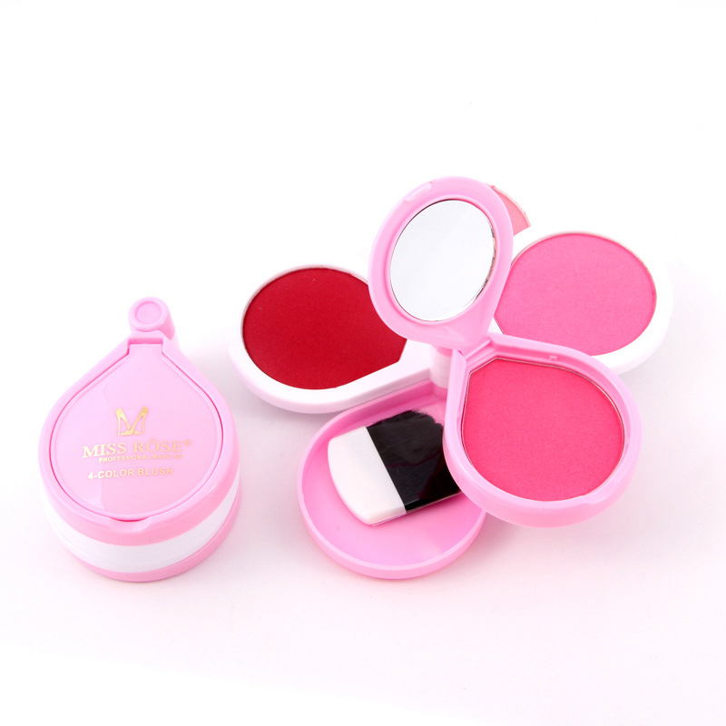Pink Red Blush Makeup Palette Powder Candy Color Sweet Set Rouged Waterproof Lasting Natural Blushes Cosmetics Beauty I233(China (Mainland))