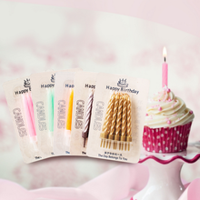 10sets New Home Party Use Ideal Helical Burr Stick Style Birthday Candles Baby Shower Party Birthday Cake Decoration, 7.5cm(China)