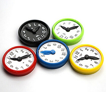 5 Pcs/Lot Hand Appropriated Clock Shaped Fridge Magnet Teaching Whiteboard Home Decortion Message Board Magnetic Sticker