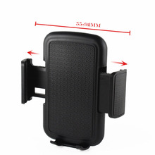 Universal Rotary Car Air Vent Clip Mobile Phone Holders Stand For LG G Stylo (CDMA),G Vista 2,Ray,K10 K8,Stylus 2,G5 H830,X cam(China)