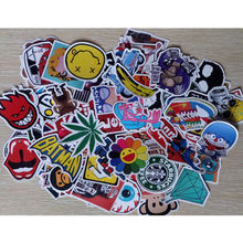 Colorful Cartoon Sticker Bomb Decal Fashion Laptop Decor Hot Luggage Sticker Removable Vinyl For Car Skate Skateboard