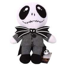 Jack Skellington The Nightmare Before Christmas Plush Stuffed Gift Toys Baby Kids Children Soft Dolls juguetes(China)