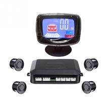 Parking Sensor 4 Sensors Buzzer LCD Kit Display Car Reverse Backup Radar Monitor System(China)
