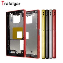 For Sony Xperia Z5 Compact Middle Frame Bezel Front Chassis Plate Housing E5803 E5823+Tools For Sony Z5 Compact Middle Frame(China)