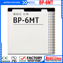 Good Quality BP-6MT BP6MT Mobile Cell Phone Battery Batteries Bateria for Nokia 6720c/E51/N81/N82