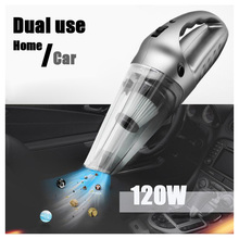 120W Handheld car vacuum cleaner Wet and Dry Vacuum Cleaner Car Household cleaning tools super suction vacuum cleaner(China)