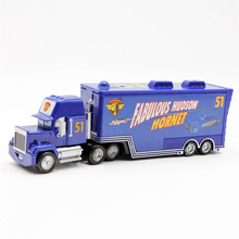 Disney Pixar Cars No.51 Fabulous Hudson Hornet Mack Truck 1:55 Scale Diecast Metal Alloy Model Toy For Childre'S Gifts(China)