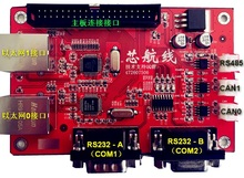W5500 RS232/485 CAN FPGA Dual Ethernet development board DE2
