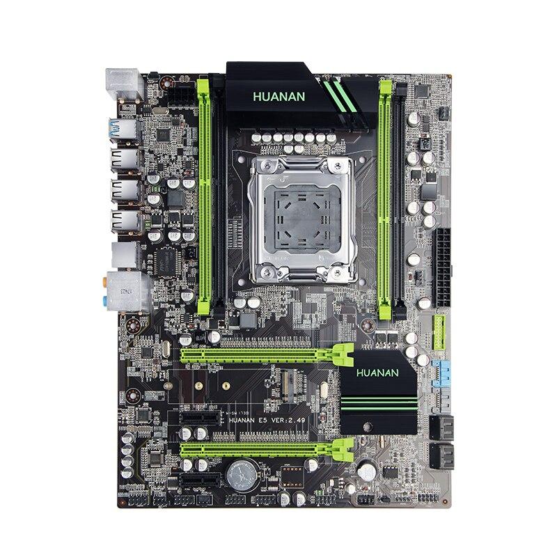Интернет магазин товары для всей семьи HTB16Z6QjJbJ8KJjy1zjq6yqapXaC Скидка материнской HUANAN Чжи X79 материнской платы с M.2 слот Процессор Intel Xeon E5 2690 C2 2,9 ГГц памяти 16G (2*8) DDR3 1600 регистровая и ecc-память