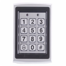Metal Numeral Keypad Outdoor Waterproof Door Access Control System Door Locks for Home Office Building Security System