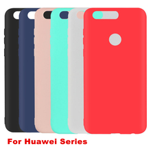 soft TPU Fashion Matte Cases For Huawei Honor 8 v8 5X 5C mate 8 9 5s 6s P8 P9 P10 plus p9 p10 p8 lite 2017 Cell Phone Back Cover