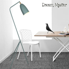 Nordic creative personality modern living room simple tripod three bedroom floor lamp(China)