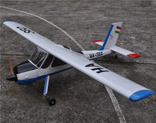 "Large Balsa Wood RC Airplane Model 89"" PZL-104 Wilga V2 30cc Gas Engine RC Plane(China)"