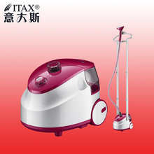 ITAS1216 Double rod iron electric steam hanging machine wholesale household appliance portable laundry garment steamers(China)