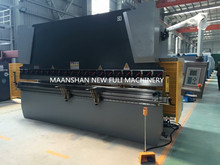Hydraulic nc Press Brake with engineer service CNC press brake/hydraulic plate bending machine(China)
