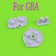 [10Set=30PCS] High Quality conductive rubber pads for Gameboy Advance for GBA console replacement