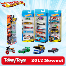 5 Pcs/Lot Hotwheels 1:64 Sport Car Set Metal Material Body Race Car Collection Alloy Car Gift For Kid Hot Wheels 1806(China)