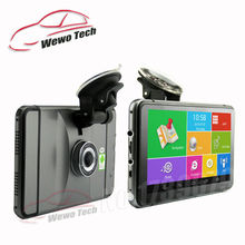 7 inch GPS Navigation Android 512Mb 8Gb 1080P Car Dvr Camera Recorder Truck vehicle Free Map Quad-core Tablet PC Vehicle Gps