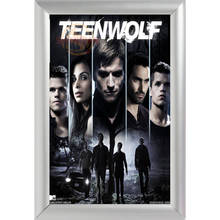 Silver Color Aluminum Alloy Picture Frame Home Decor Custom Canvas Frame Teen Wolf Canvas Poster Frame F170112#149(China)