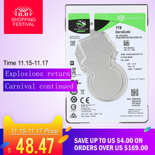 "Seagate Laptop HDD 1TB  Internal Notebook Hard Disk Drive hdd 2.5"" 7mm 5400RPM SATA 6Gb/s 128MB Cache 2.5-inch ST1000LM048"