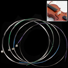 4pcs Professional Violin Strings E-1st / A-2nd / D-3rd / G-4th Strings Set for 4/4 -1/8 Size Musical Instruments Accessories