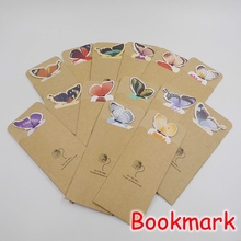 (35 Pieces/Lot) Wholesale School Supplies Cute 3D Butterfly Bookmark / Novelty Paper Bookmarks For Books FRS-70(China)