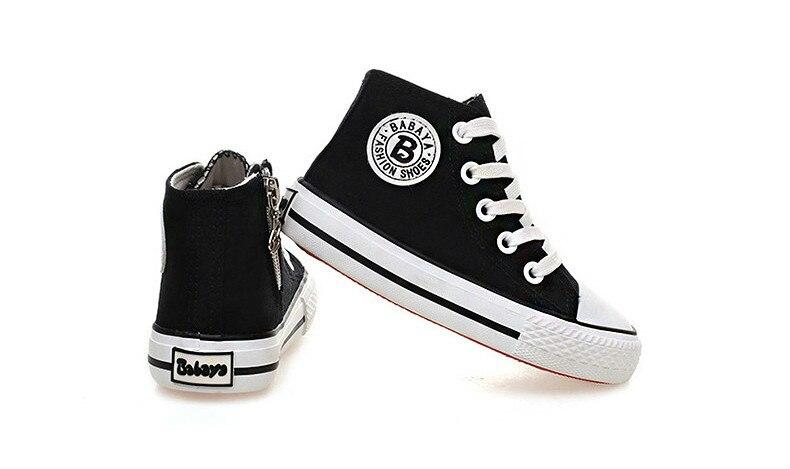 Enfants chaussures pour fille enfants toile chaussures garçons 41