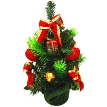 Hig 20cm Mini Christmas Tree Delicate Decoration Christmas Holiday Adornment Wholesale Christmas Ornaments Kerst Decoratie@GH(China)