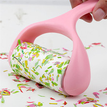 Reusable Sticky Lint Roller Buddy Picker Pet Hair Remover Brush Lint Hair Cleaning Brush Dusting Furniture Dust Sticking Roller(China)