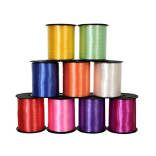 250 Yards Balloon Cable Ties Plastic Ribbon Wedding Decoration Gift Wrapping Christmas Colored Party Decorations Happy Birthday(China)