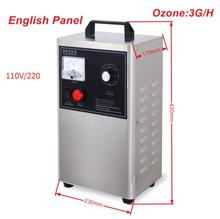 Multifunctional Home Air and Water Ozone Purifier 110V/220V Generador De Ozono 3GRH For Healthy Life + Free Shipping(China)