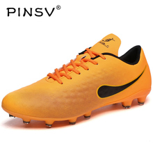 PINSV Soccer Cleats Superfly FG Mens Kids Football Shoes Soccer Shoes Chuteira Futebol Shoes Soccer Football Sneakers Spikes